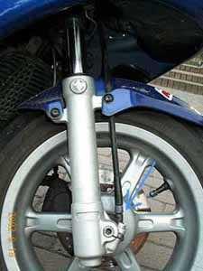 Tachowelle für Roller